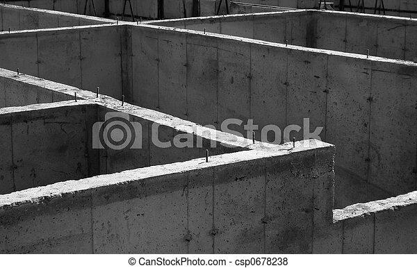 Concrete Foundation - csp0678238