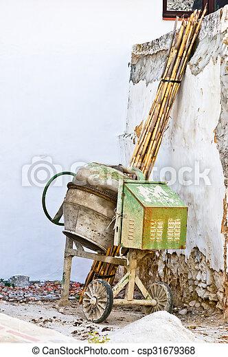 concrete mixer - csp31679368