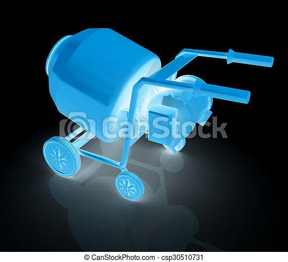 Concrete mixer - csp30510731