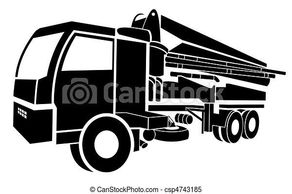 Concrete pump - csp4743185