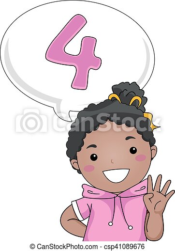 Las niñas cuentan - csp41089676