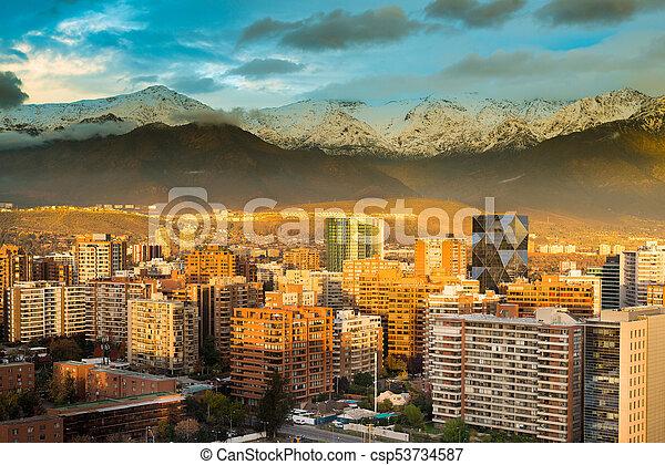 Distrito Las condes - csp53734587