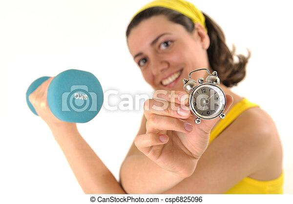 condicão física, tempo - csp6825096