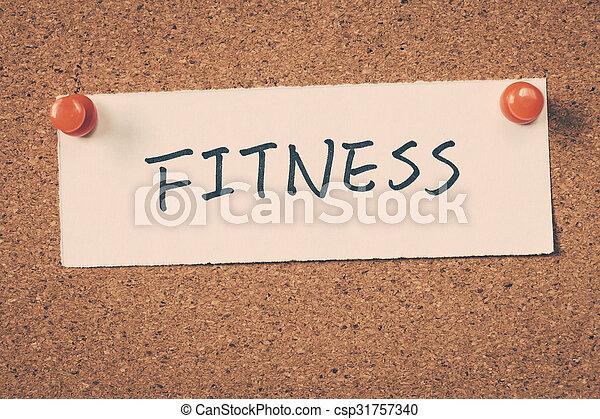 Fitness - csp31757340
