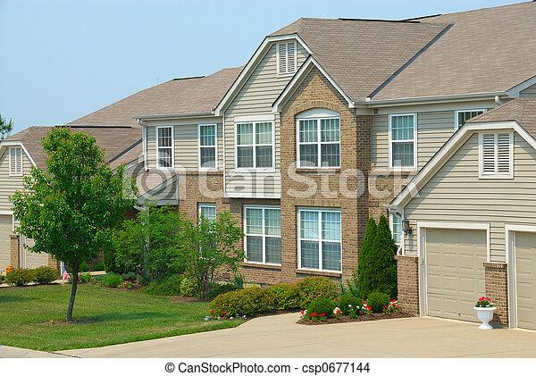 Condo Homes - csp0677144
