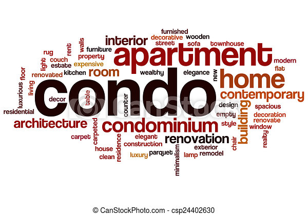 condo word cloud csp24402630