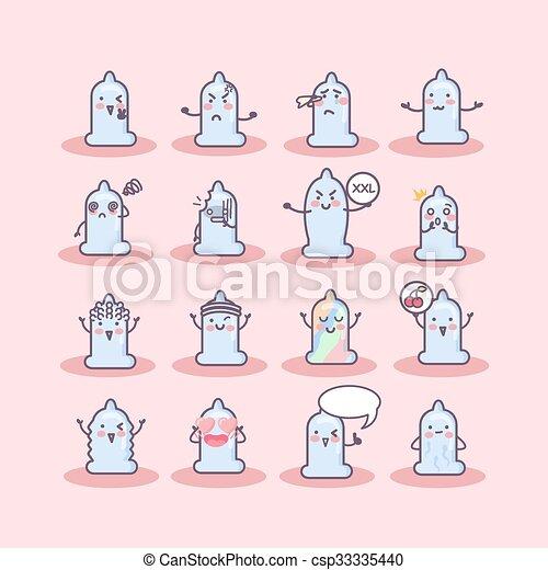 condom cartoon - csp33335440