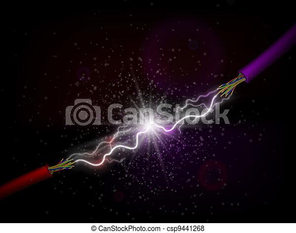 Conducting electricity - csp9441268