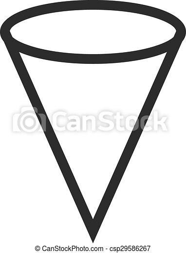 cone shape vector clipart eps images 4 788 cone shape clip art