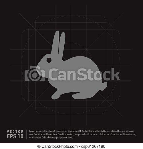 icono conejo - csp61267190