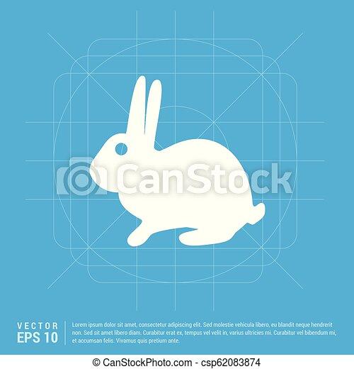 icono conejo - csp62083874