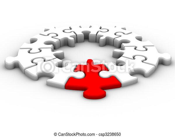 Conexión de liderazgo - csp3238650