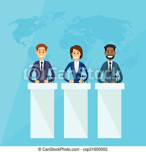 conférence, dirigeants, international, presse, président - csp31650002