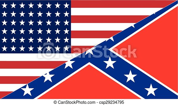 confederate and america flag eps this is a design of an american