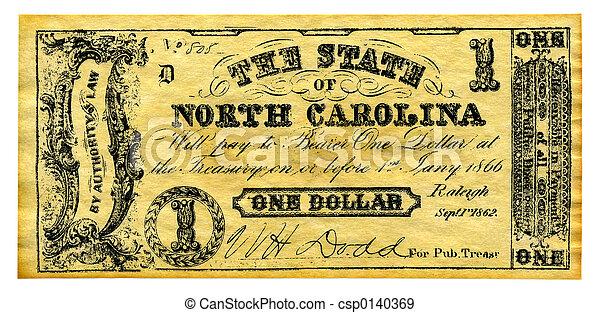 Confederate Money - csp0140369