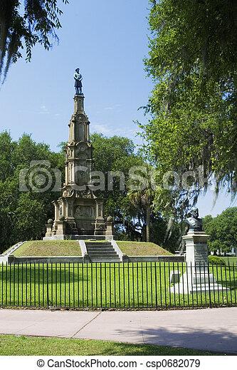 Confederate Monument - csp0682079