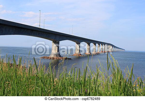 Confederation Bridge to Prince Edward Island - csp6782489
