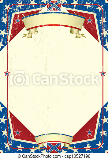 Confederatre grunge background - csp10527196