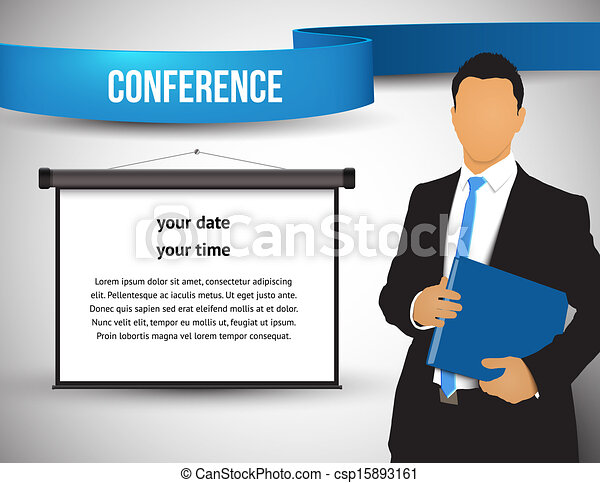 Conference illustration - csp15893161