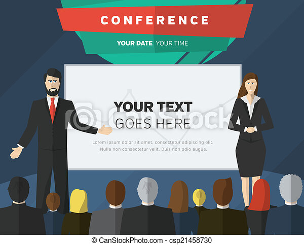Conference illustration - csp21458730