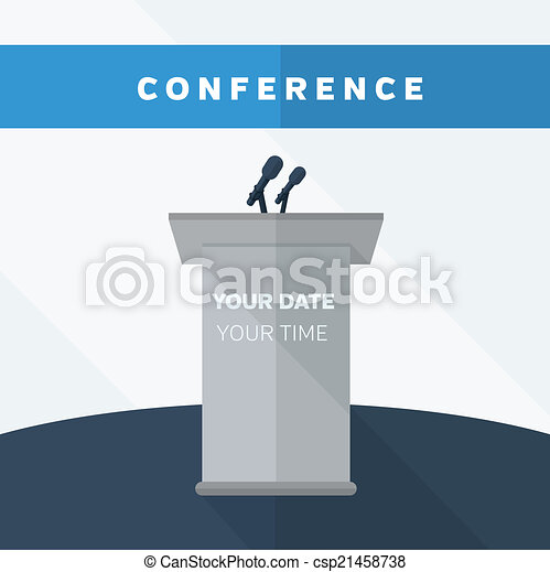 Conference illustration - csp21458738