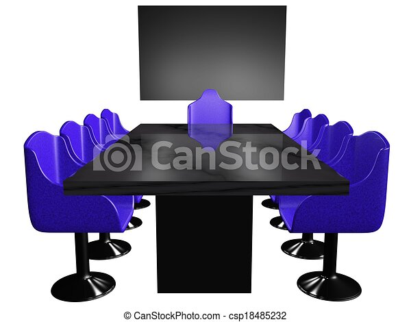 Drawings Of Conference Room Table A D Conference Room Setup - Conference room table and chairs clip art