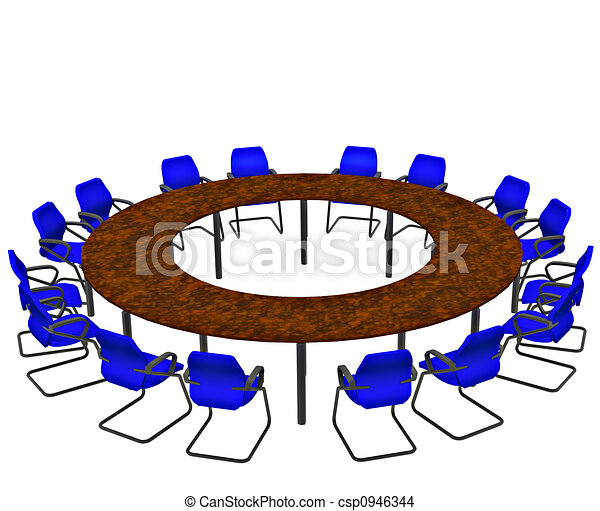 Conference Table - csp0946344
