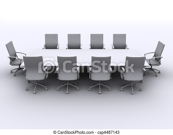 conference table - csp4487143