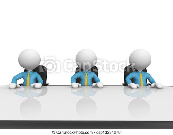 conferentie tafel - csp13234278