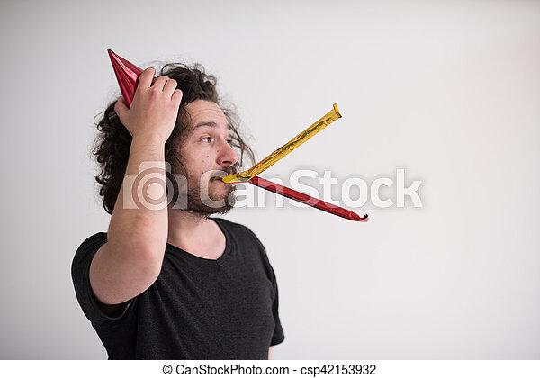 Confeti en la fiesta - csp42153932