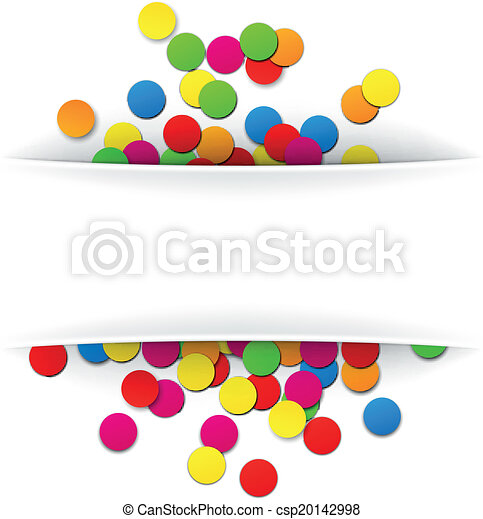 confetti celebration background colorful celebration eps vectors rh canstockphoto com confetti clip art vector confetti clipart black and white