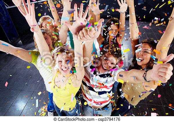Confetti joy - csp3794176