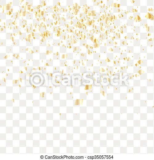 confetti, tomber, beaucoup - csp35057554