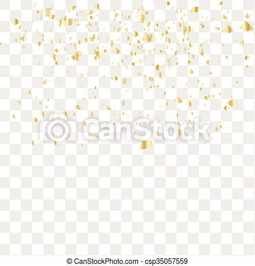confetti, tomber, beaucoup - csp35057559