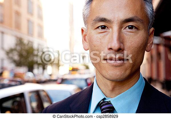 Confident Business Man - csp2858929