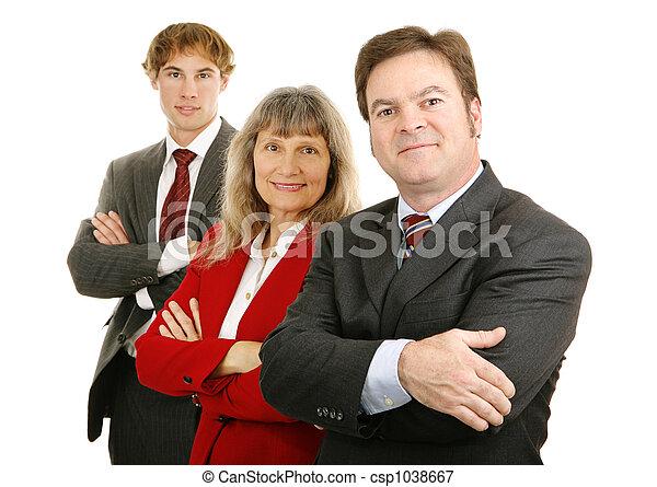 Confident Business Team - csp1038667