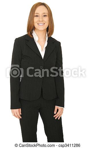 Confident Business Woman - csp3411286