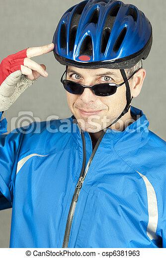 Confident Cyclist 2 - csp6381963