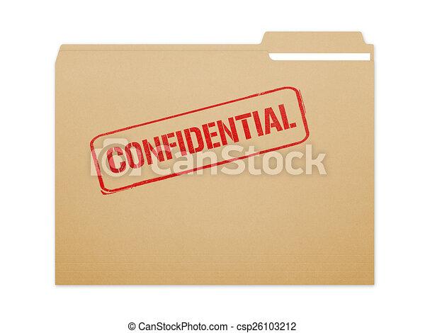 Confidential Folder - csp26103212