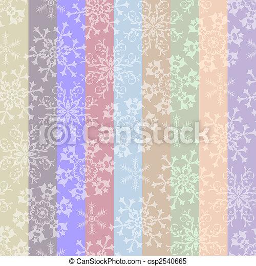 Abstracción de Navidad rayada y sin manchas - csp2540665