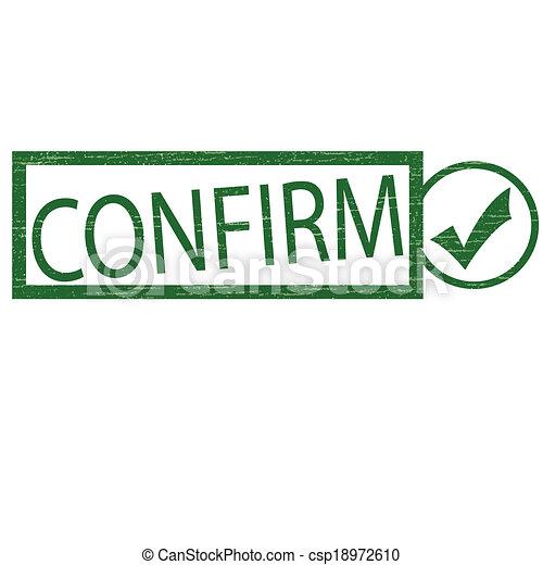 Confirm - csp18972610