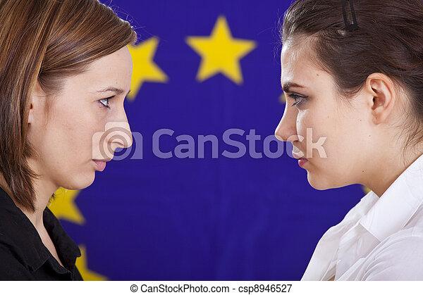 conflict in european politics - csp8946527