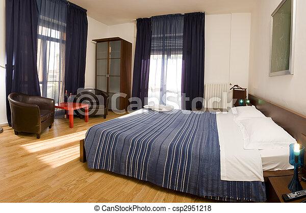 confortable, chambre à coucher - csp2951218