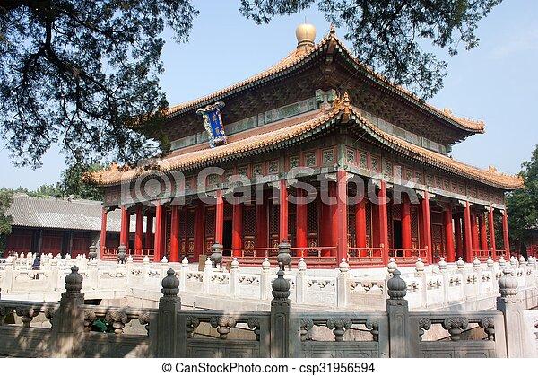 Templo Confucio - csp31956594