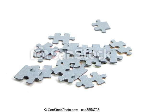 confunda pedaços - csp5556736