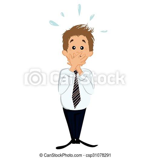 Confused businessman - csp31078291