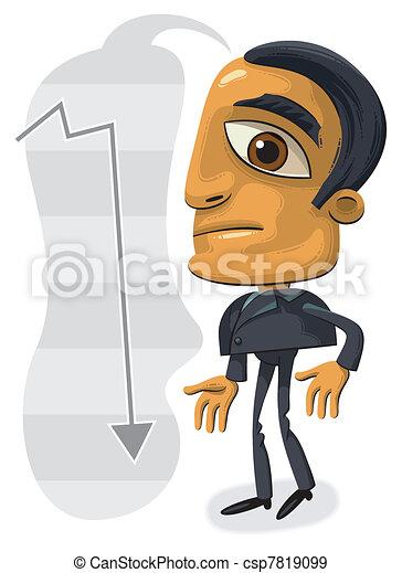 Confused businessman - csp7819099