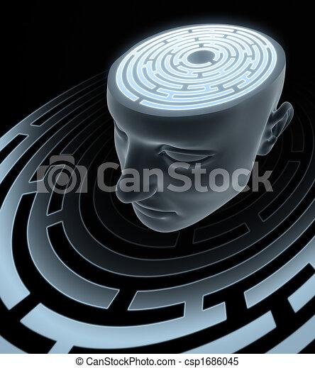 Confused Mind - csp1686045