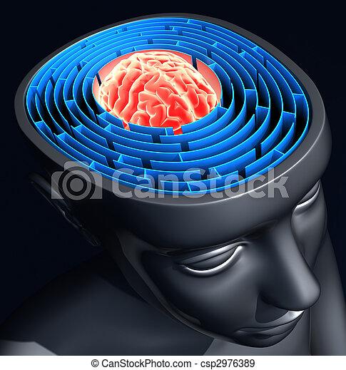 Confused Mind - csp2976389