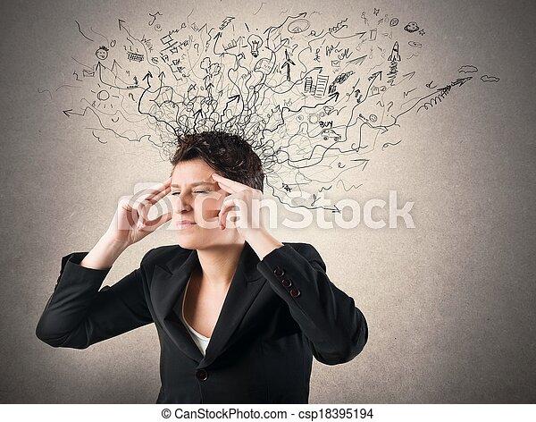 confusion, tension - csp18395194